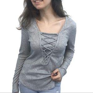 Self Esteem Corset Sweater